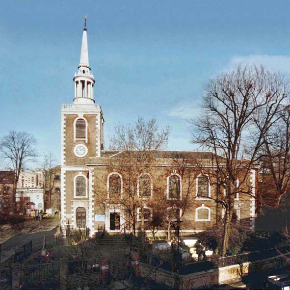 A view of St Mary's